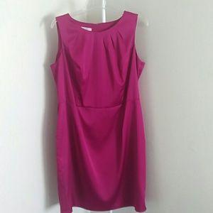 Dress Barn pink sleeveless dress size 18w